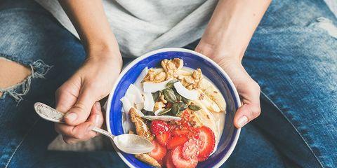 healthy breakfast bowl