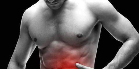 pain in gut
