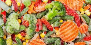 fresh or frozen fruits and veggies