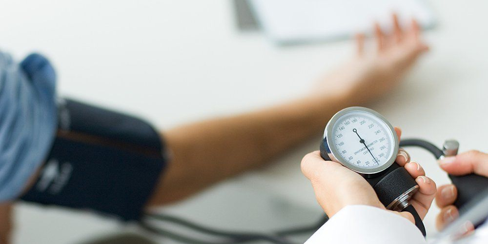 high blood pressure without reading changing