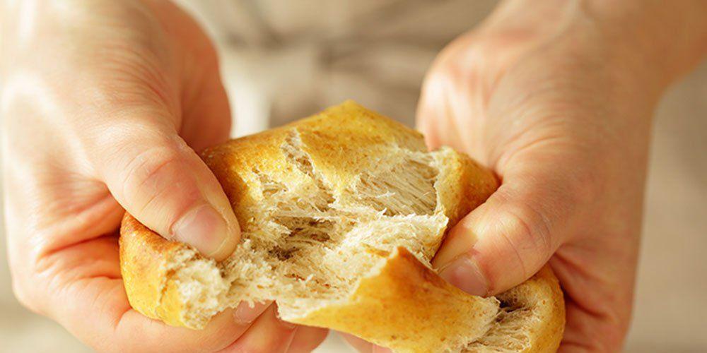bread containing gluten