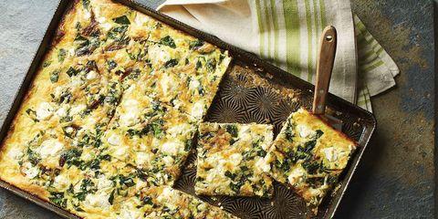 sheet pan quiche