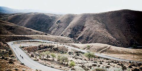 Mountainous landforms, Plant community, Landscape, Slope, Valley, Geology, Formation, Badlands, Subshrub, Thoroughfare,