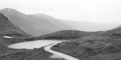 Mountainous landforms, Highland, Water resources, Hill, Landscape, Tarn, Mountain, Mountain range, Valley, Geology,
