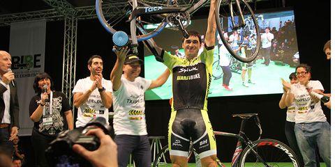 Ultracyclist Julian Sanz