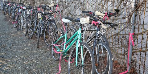Stolen bikes without owners