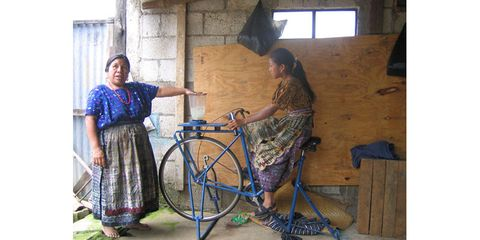 Maya Pedal Powered Blender