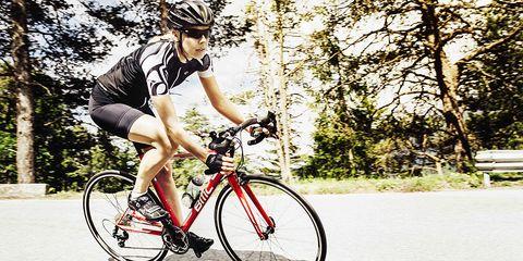 BMC ALR01 aluminum road bike in action.