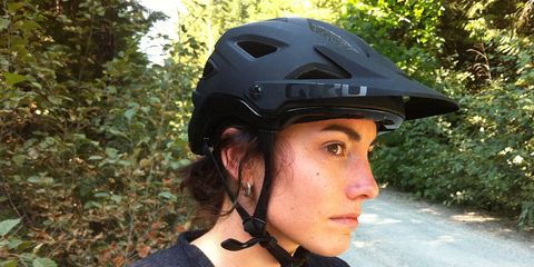 The new Montaro helmet features MIPS technology in a stealthy design