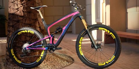 Alchemy Arktos trail bike