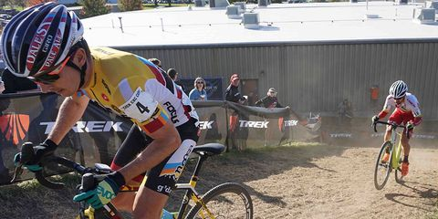 What makes a cyclist faster than his evenly-matched by-the-numbers opponent?