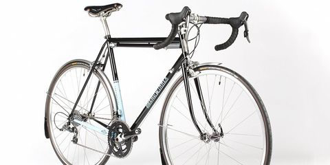 The Breadwinner Continental is designed for longer reach rim brakes, which improve clearance.