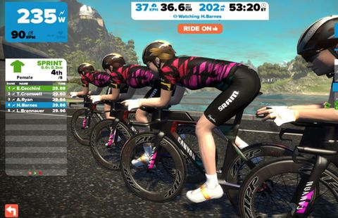 Canyon-SRAM Racing Team and Zwift Partner to Find New