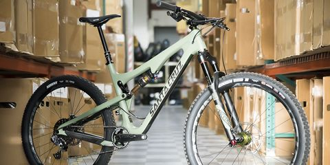 Longtime collaborators Santa Cruz Bicycles and Chris King Components teamed up on this limited-edition bike