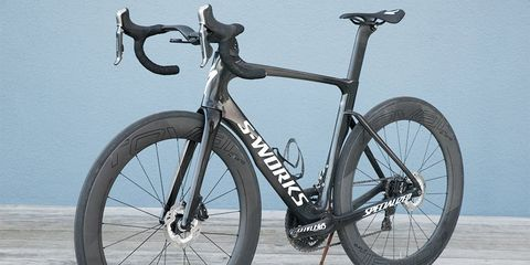 Why does the Venge ViAS look so good with disc brakes? Because this was how it was originally imagined.