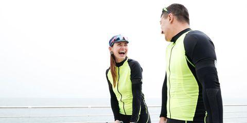 cyclist conversation