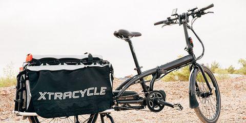tern cargo folding bike