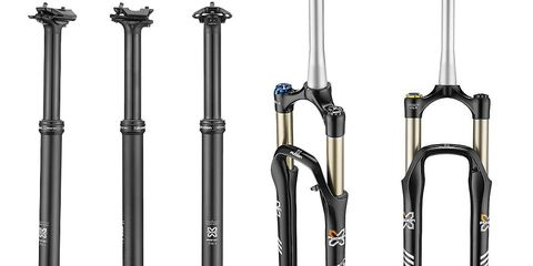 X-Fusion Manic dropper post and McQueen fork