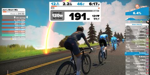 Zwift to Incorporate Running, VR into Its Platform.