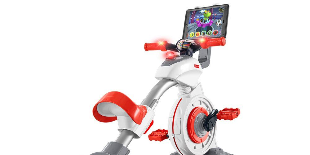 Fisher Price Makes Mini Stationary Bike For Kids Bicycling