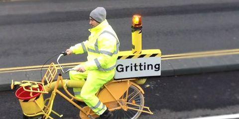gritter bike Yannick Read