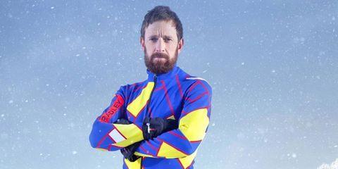 bradley wiggins the jump ski cycling