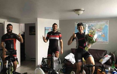 This Cyclist Rode the Trainer for 128 Hours