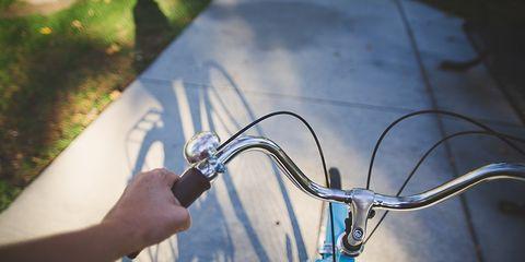 bicycle sidewalk california
