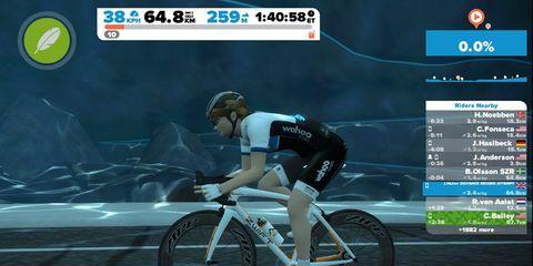 Jasmijn Muller Zwift Distance Record Holder Cycling