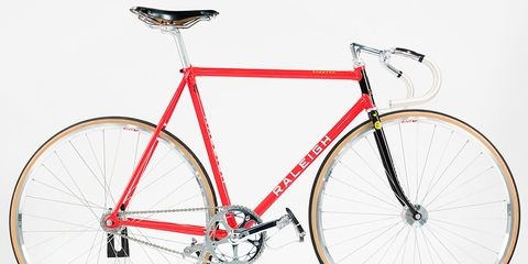You Can Own Raleigh's Limited Edition Track Bike Commemorating Nelson Vails.