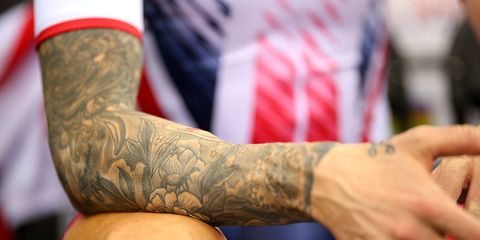 Tattoos May Mess With Your Sweat Rate.
