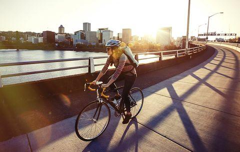 bike commute medicine health disease risk prevention