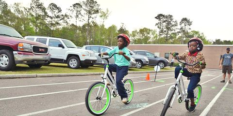 Charleston County School District students get bikes