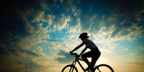 mountain biker heart health