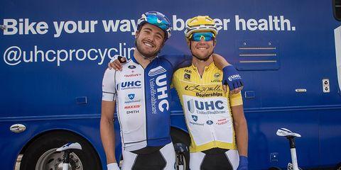 Kiel Reijnen Danny Summerhill UnitedHealthcare pro cycling