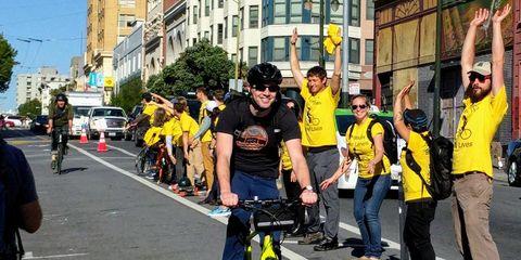 human bike lane san francisco
