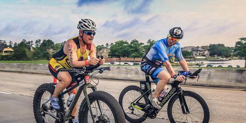 Kevin Emge Ironman Texas Fat Bike Race