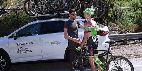 toms skujins cannondale crash concussion cycling