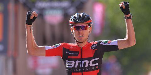 tejay van garderen cycling giro d'italia stage 18 american cyclist