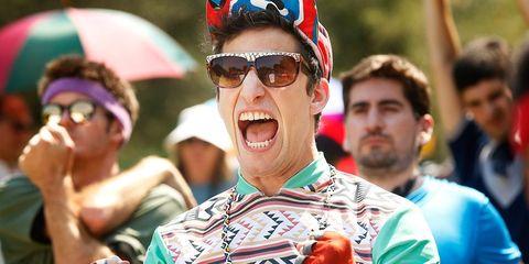 andy samberg stars in his new film 'Tour de Pharmacy'