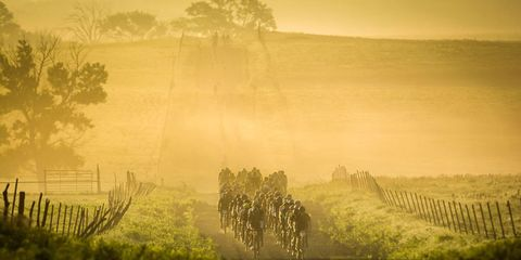 dirty kanza gravel road cycling race