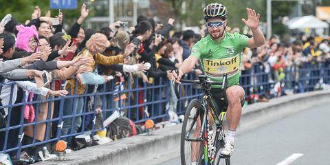 Peter Sagan Green Jersey
