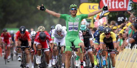 kittel wins stage 10 on disc brakes