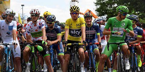 Tour de France start
