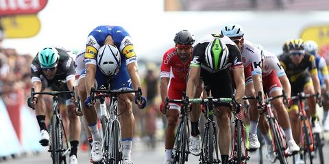 Kittel wins Tour de France Stage 7
