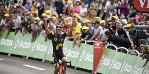 tour de france stage 8 finish