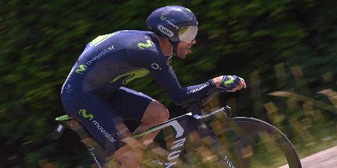 Alejandro Valverde Crashes Stage 1 Tour de France