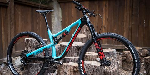 Rocky Mountain Mountain Bike Blue and Red