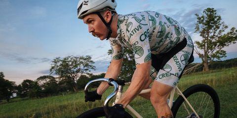 Ashton Lambie racing grass track