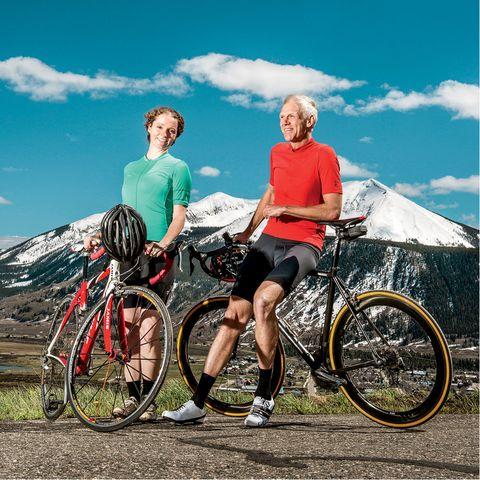 Cycling At Pikes Peak